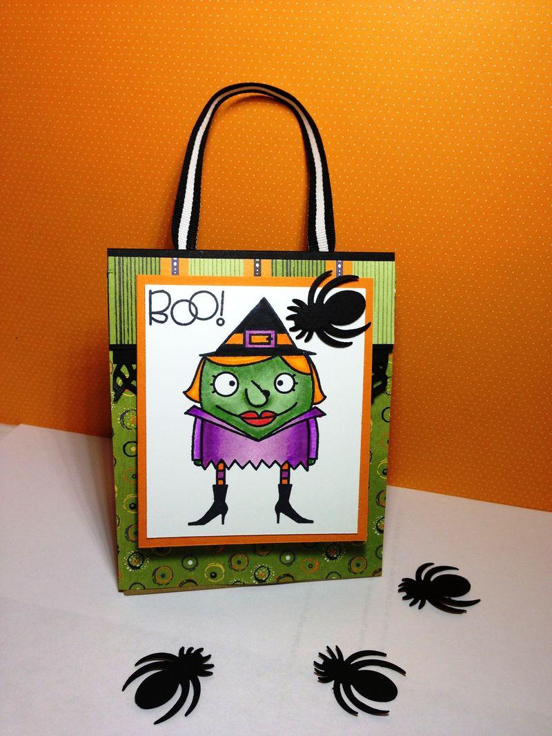 Halloweenies Treat Bag